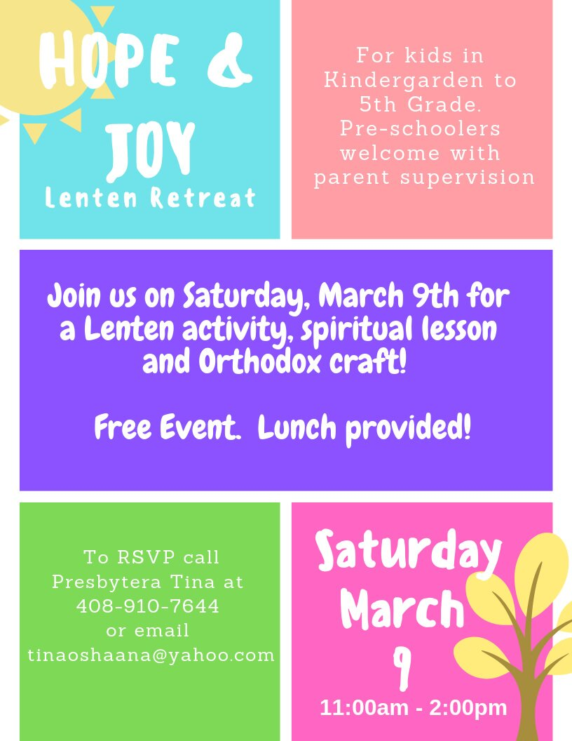 HOPE & JOY Lenten Retreat