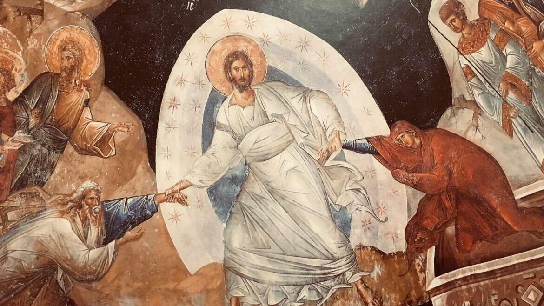 The Fallen World. The Risen Christ.